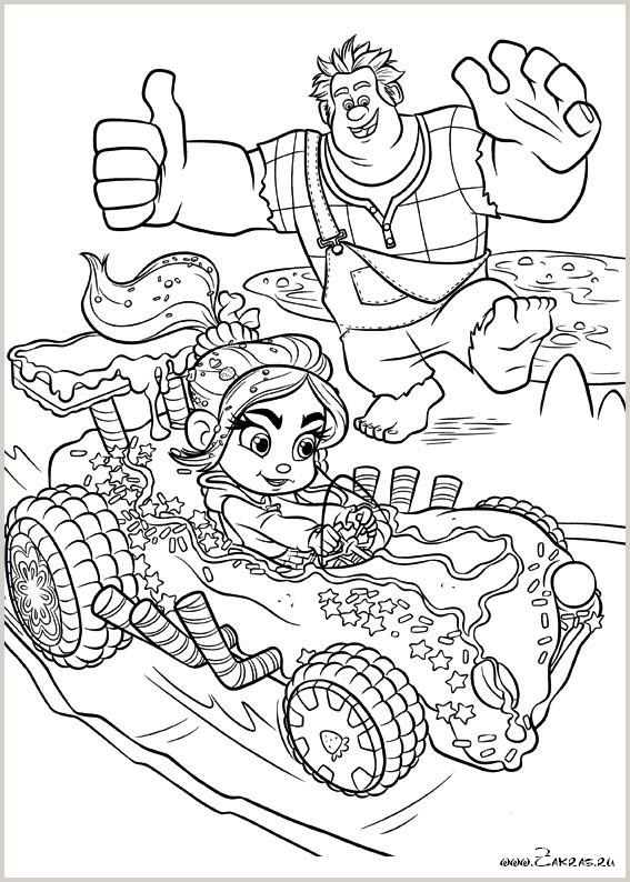 раскраски ральф 2012 Wreck It Ralph Coloring Pages