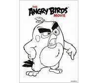 раскраски Angry Birds в кино The Angry Birds Movie Coloring